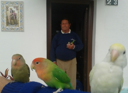 "Paco ""The Birdman"" of Marbella's Fishermen's cottages"