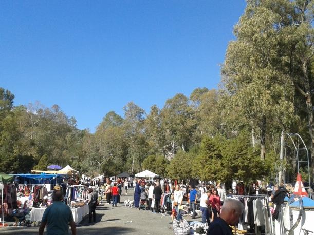Benahavis Sunday morning flea market