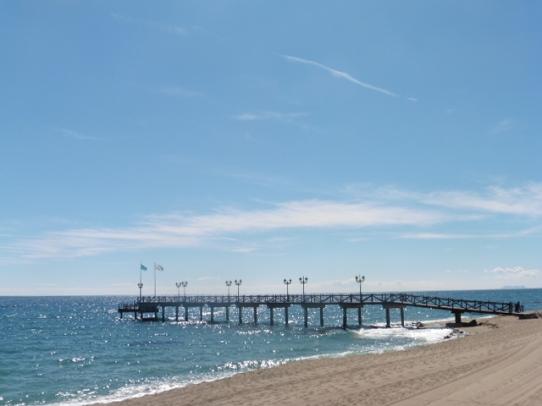 Marbella Club jetty