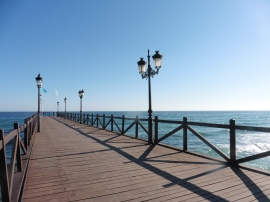 Marbella Club jetty