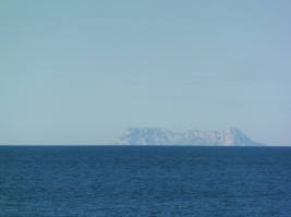 Gibraltar from Marbella Club jetty