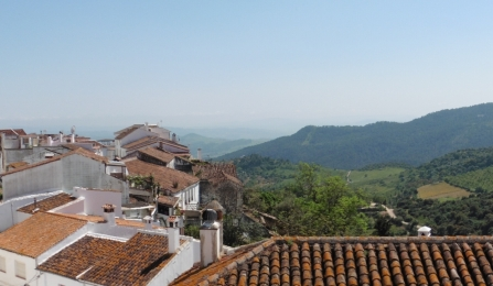view from Gaucín rooftops - photo: Liz Glazer
