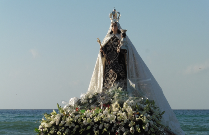Queen of the Seas Marbella Virgen del Carmen 2016