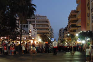 Start of Virgen del Carmen procession through Marbella streets 2016