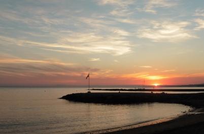 Marbella Sunset skies
