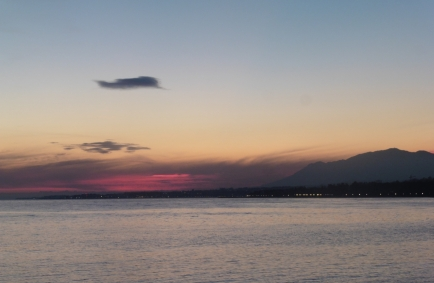 Marbella sunset skies