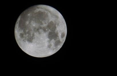 Marbella Town super moon
