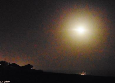 Full Sturgeon Moon Marbella, August 2017