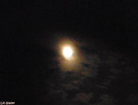 Eve Full Sturgeon Moon Marbella, August 2017