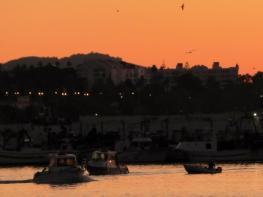 Sunrise in Marbella Town